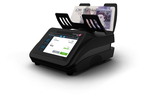 cash counter with GBP
