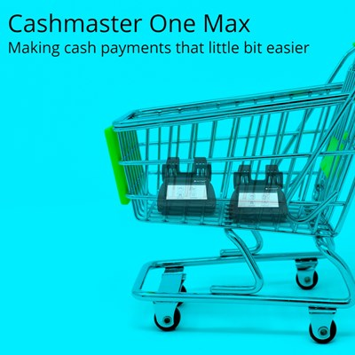 cash counters in a shopping trolley