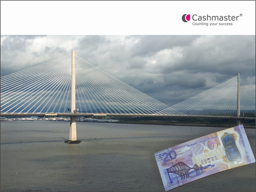 Queensferry Crossing and new £20 polymer note from Bank of Scotland