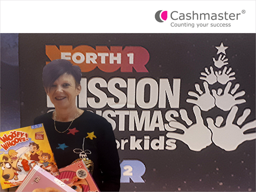 Cashmaster join Christmas appeal